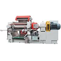 Automatic feeding mixing mill